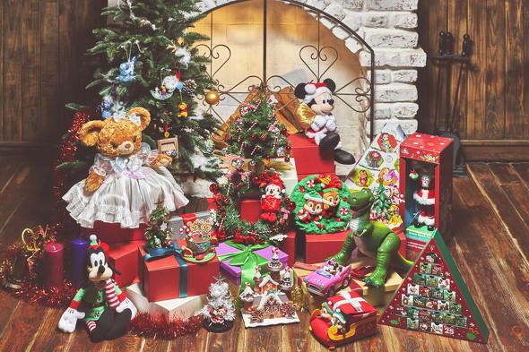 ディズニーストアクリスマス
