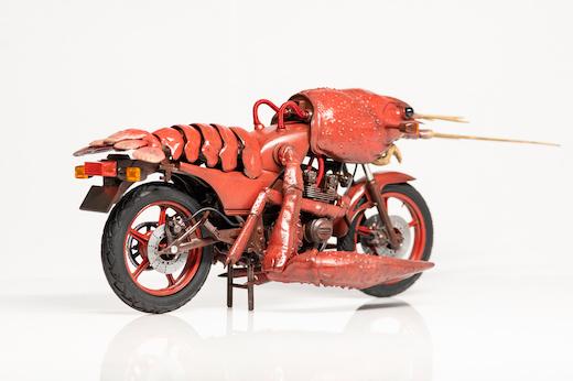 ザリガニ バイク 模型 プラモデル Z400