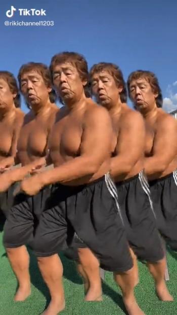 長州力 TikTok Twitter ダンス 分裂