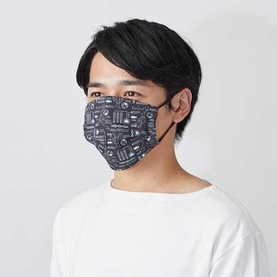 初代 ポケモン 151匹 柄 選べる マスク カスタム ポケモンシャツ