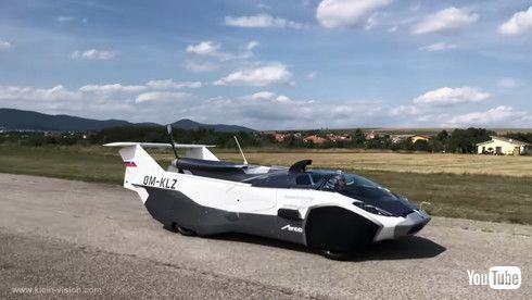 AirCar 初飛行