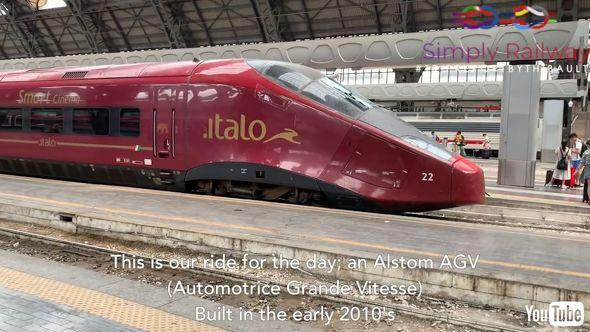 鉄道 海外 YouTube イタリア イタロ 高速列車