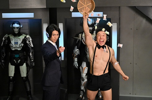劇場版 仮面ライダーゼロワン アキラ100% なかやまきんに君 腹筋崩壊太郎 ビンゴ 南圭介 ましろちゃん 大後寿々花