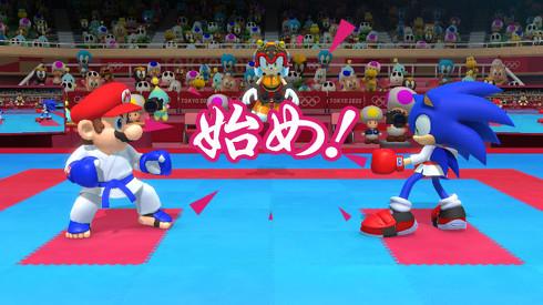 マリオ&ソニック AT 東京2020オリンピック(TM)