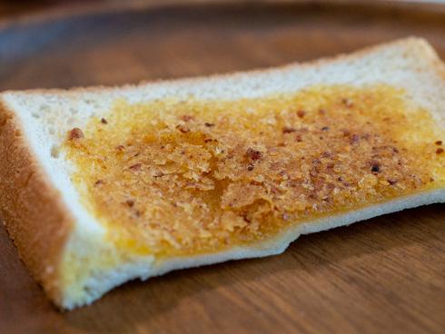 ぬって焼いたらカレーパンの表面