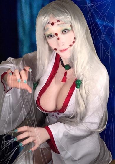 叶姉妹 美香 恭子 鬼滅の刃 コスプレ 堕姫 ブログ 累の母蜘蛛