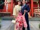 近藤千尋、長女の七五三で笑顔の家族ショット 2児抱えての行事に見えない苦労も「本当に体力勝負」