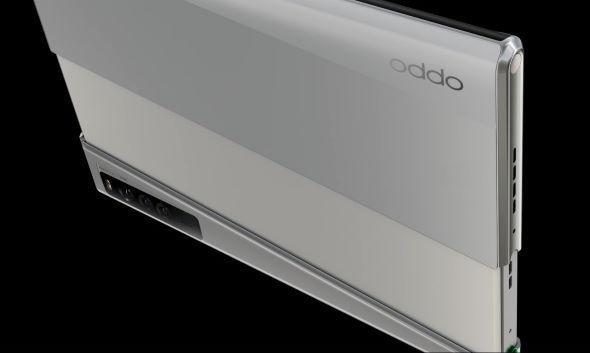 OPPO X 2021 スマホ 変態端末