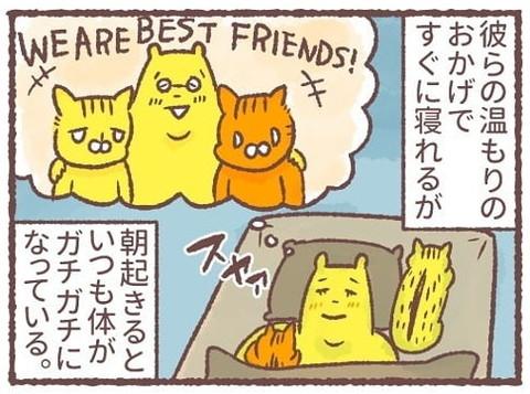 「猫は薄情っていうけど…」
