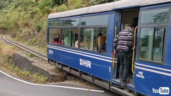 鉄道 海外 YouTube インド ダージリン ヒマラヤン 蒸気機関車
