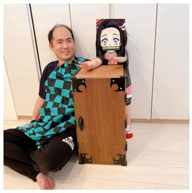 鬼滅の刃 トレエン斎藤 斎藤司 禰豆子 箱
