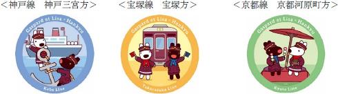 リサとガスパール阪急コラボ