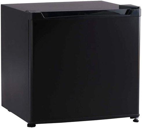 アイリスプラザ 1ドア 冷蔵庫 46L 右開き(幅47cm) ブラック PRC-B051D-B