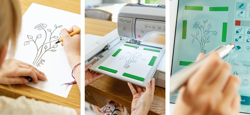 ミシン 刺繍 高機能