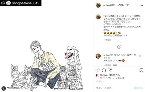 石田ゆり子 インスタ 偽アカ 認証 犬猫用アカウント