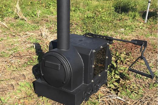 薪ストーブ SL 蒸気機関車 クラウドファンディング キャンプファイヤー