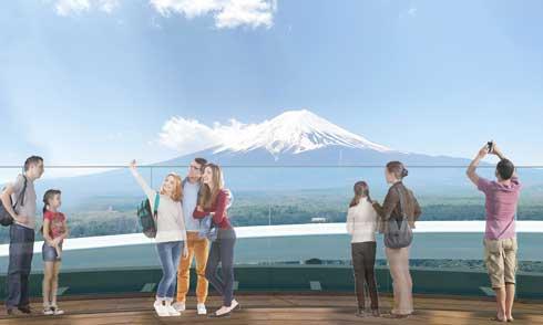 富士急ハイランド FUJIYAMAタワー 富士山 絶景 展望台