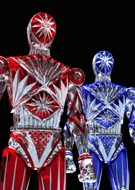 工作 ホームセンター クリスマス デコレーション 星飾り ロボット 安居智博