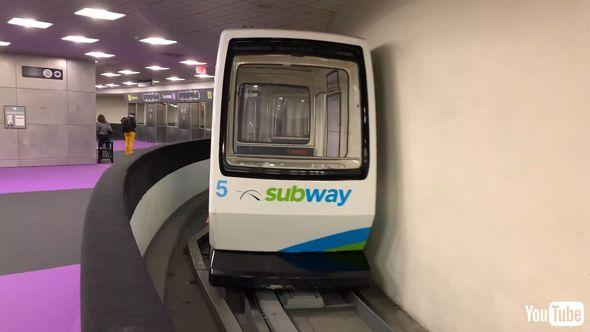 鉄道 海外 YouTube アメリカ 新交通システム ディズニーランド