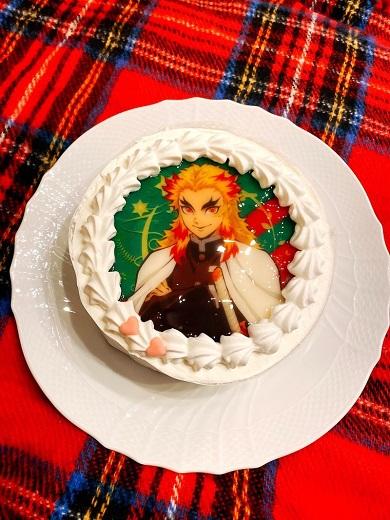 片岡愛之助 鬼滅の刃 煉獄 ケーキ