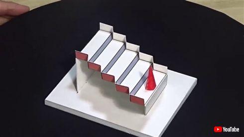 階段を上ったはずが降りていた 錯視オブザイヤー2020は日本人制作の「シュレーダーの階段」が優勝