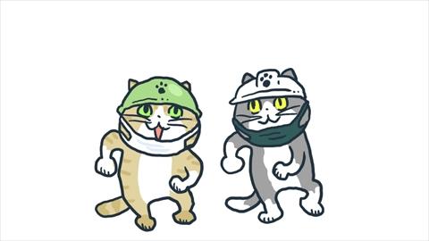 仕事猫 新宿区 マスクヨシ