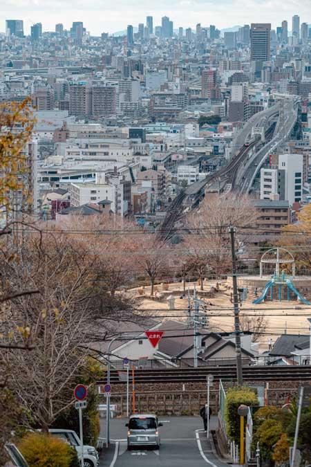 情報量 多い 風景 大阪 石切町 景色 写真