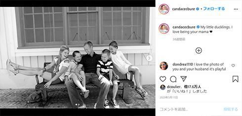 キャンディス・キャメロン・ブレ フルハウス フラーハウス Instagram DJ 家族 結婚 子ども 長女 出産