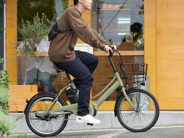電動アシスト自転車「エナシスコンパクト」