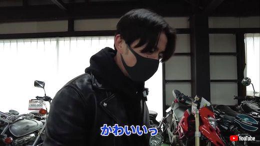 藤森慎吾 オリエンタルラジオ バイク ヨンフォア 納車 CB400Four