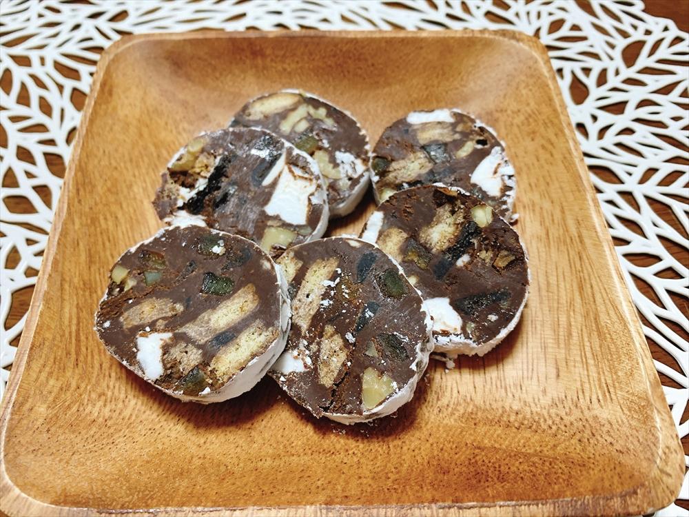 チョコレート サラミ