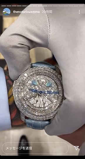 コナー・マクレガー 腕時計 ロレックス 高級 UFC 総合 格闘家 コレクション Instagram