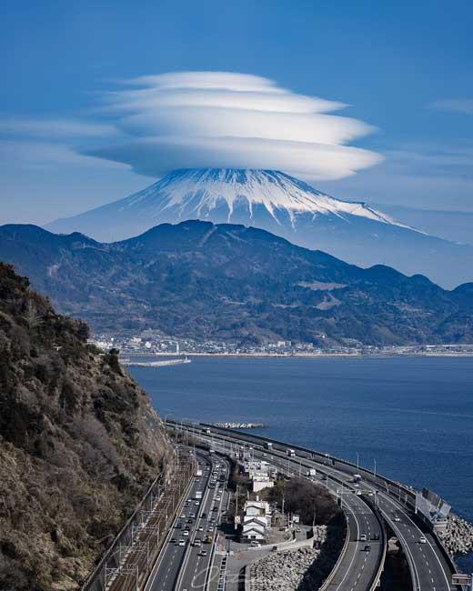 奇跡の富士山 写真 静岡 さった峠