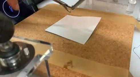 腹腔鏡折り鶴