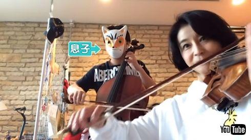 高嶋ちさ子 バイオリン 息子 何歳 発表会