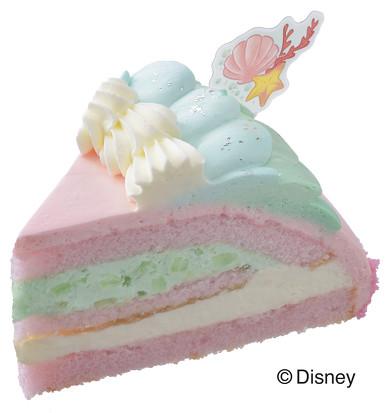 コージーコーナー ディズニープリンセスケーキ