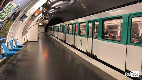 鉄道 海外 YouTube パリ 地下鉄