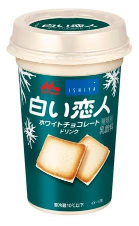 白い恋人 ホワイトチョコレートドリンク サンドアイス コラボ 森永乳業