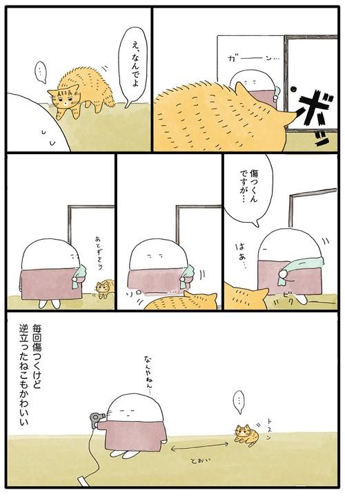 猫ちゃんのクセ漫画2