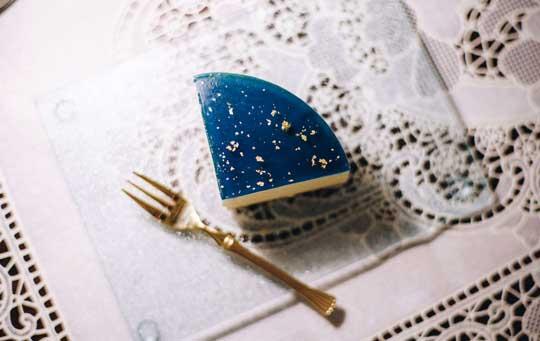 夜空 浮かべた レアチーズケーキ tsunekawa クリームソーダ きれい