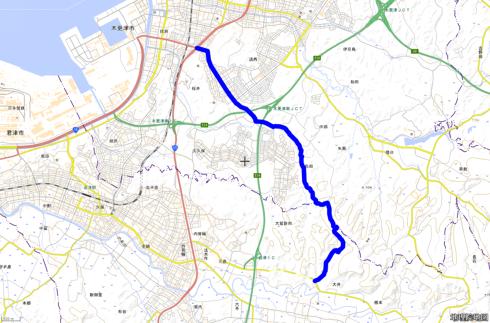 千葉県道269号のルート