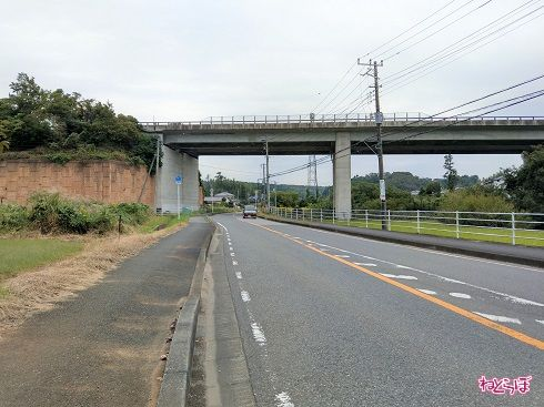 館山自動車道と2度目の交差