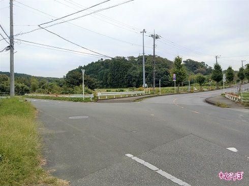 左に見える「枝道」こそが県道269号