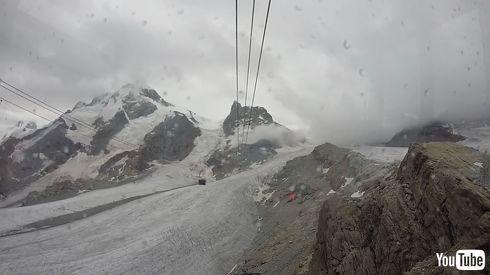 鉄道 海外 YouTube スイス ロープウェイ