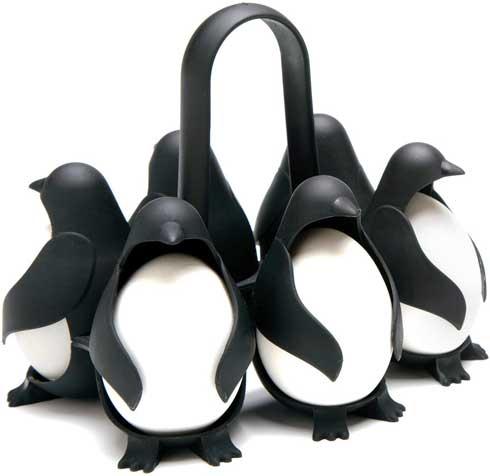 ペンギン ゆで卵 調理器具 オカン 見せに来た かわいい