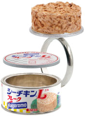 定番のシーチキンやみかんがペアリングに! 缶詰リングのカプセルトイに新作登場