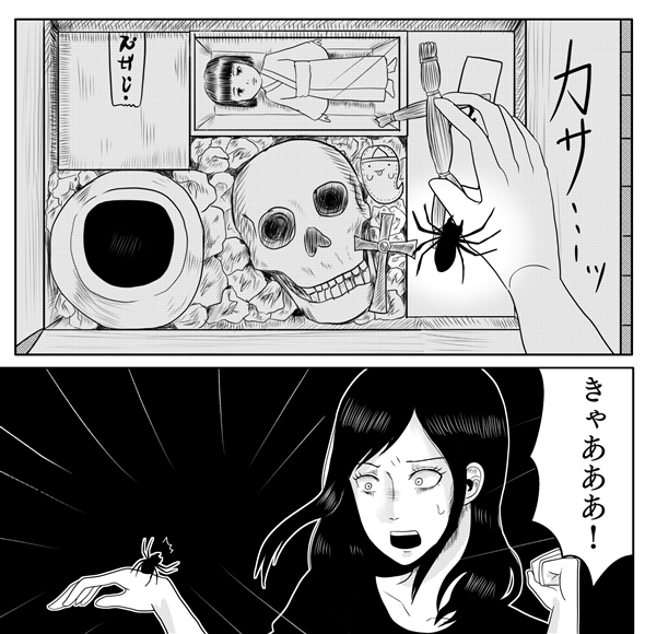 蜘蛛の話 漫画