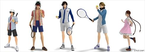 テニスの王子様 テニプリ 映画 リョーマ! The Prince of Tennis 新生劇場版テニスの王子様 3DCG キャラクタービジュアル