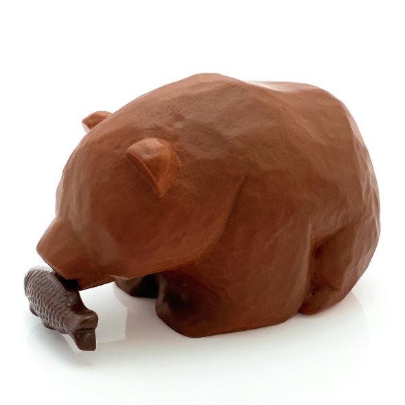 キボリーヌ オ ショコラ スマイルラボ チョコレート 木彫りの熊
