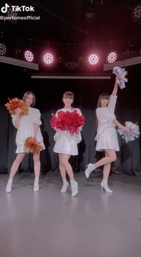 Perfume 新宝島 tiktok サカナクション 山口一郎 ダンス